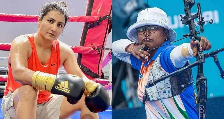 टोक्यो ओलिंपिक 2020  तीरंदाजी में दीपिका कुमारी और बॉक्सिंग में पूजा रानी जीतीं