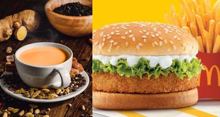 हल्दी वाला दूध और मसाला कड़क चाय जैसे 2 प्रोडक्ट को अपने मैकैफे मेन्यू में जोड़ा है