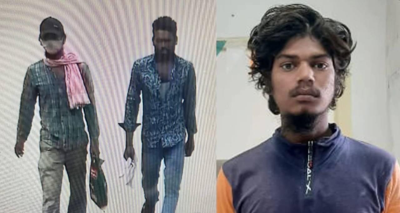 पुलिस ने जारी की आरोपी की तस्वीर।
