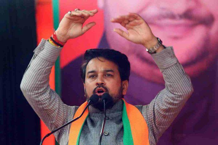 जम्मू कश्मीर डीडीसी चुनाव में भाजपा की कमान अनुराग को सौंपी