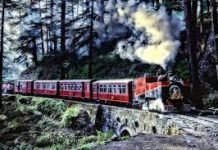 हिमाचल में दो लोगों के लिए चली ट्रेन (one train two passenger)