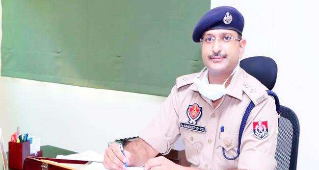 एसएसपी संदीप गर्ग को मिली पटियाला की कमान