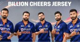 टी-20 वर्ल्ड कप के लिए नई जर्सी लॉन्च, देखिये टीम इंडिया की बिलियन चियर्स जर्सी