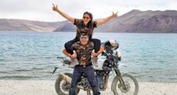 शादी के बाद बेटी जा रही थी विदेश बसने, बेटी संग 15 दिन बाइक राइड पर निकले पिता