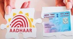 अब 31 मार्च 2022 तक करवा सकेंगे पैन कार्ड को आधार कार्ड से लिंक