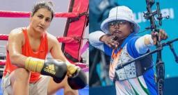 टोक्यो ओलिंपिक 2020 : तीरंदाजी में दीपिका कुमारी और बॉक्सिंग में पूजा रानी जीतीं
