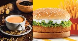 मैकडॉनल्ड्स में अब बर्गर के साथ इम्युनिटी बूस्टर मसाला कड़क चाय और हल्दी वाला दूध भी मिलेगा