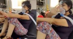 """वायरल वीडियो में &quotलव यू जिंदगी"""" में झूमने वाली महिला की कोरोना से मौत"""