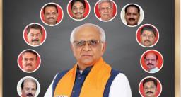 गुजरात के नए मुख्यमंत्री भूपेंद्र पटेल की कैबिनेट में 24 मंत्री शामिल