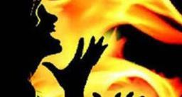 केरोसीन डालकर एक बेटे ने मां को लगाई आग, 90% झुलसी बुजुर्ग की अस्पताल में हुई मौत