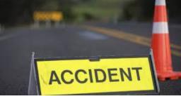 चौगिट्टी फ्लाईओवर पर तेज रफ्तार ट्रक की चपेट में आने से दो महिलाओं की मौत