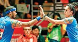 टोक्यो ओलंपिक्स 2020: टेबल टेनिस मिक्स्ड डबल्स भारत को लगा झटका, शरत-बत्रा की जोड़ी हारी