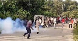 असम के 6 जवानों की मौत पर मनाया गया