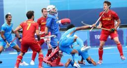 टोक्यो ओलिंपिक 2020 - भारतीय हॉकी टीम ने पूल-ए के तीसरे मैच में स्पेन को 3-0 से हराया