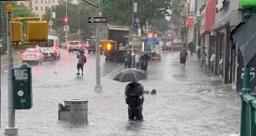 न्यूयॉर्क में तूफान इडा का कहर, भारी बारिश और बाढ़ से 41 लोगों की मौत