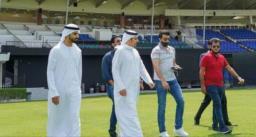 दुबई में रेसिंग कार का लुत्फ उठा रहे बीसीसीआई प्रेसिडेंट सौरव गांगुली